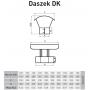 Daszek kominowy owal 120x230 0,8 mm