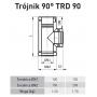 Trójnik 100/150 SGSP