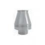 Ustnik dwuścienny żaroodporny 180/280 0,8 mm
