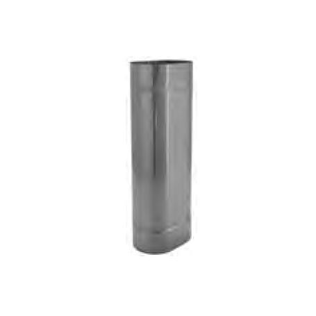 Rura żaroodporna owalna 130x320/1m 0,8 mm