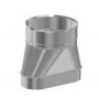 Redukcja żaroodporna owalna 120x245/+200 0,8 mm