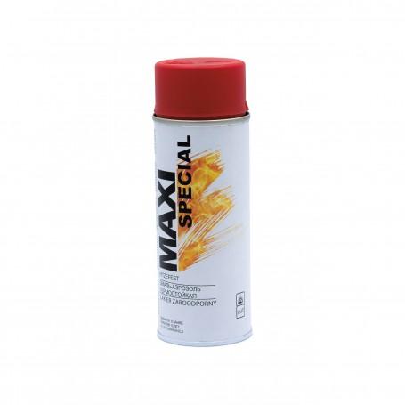 Farba spray MAXI Special czerwona żaroodporna