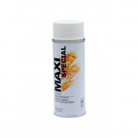 Farba spray MAXI Special biała żaroodporna