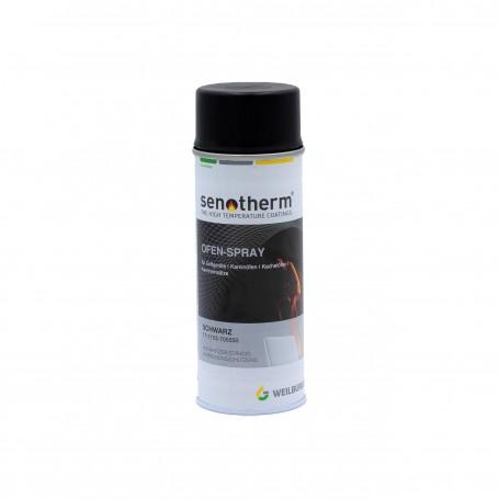 Farba spray SENOTHERM czarny - 400 ml