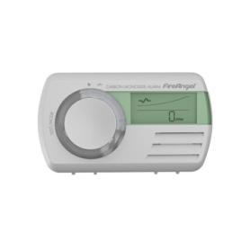 Czujnik tlenku węgla FireAngel CO-9D-PLT z wyświetlaczem LCD i termometrem