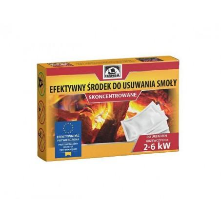 Efektywny środek do usuwania smoły z urządzeń grzewczych 2-6 kW HANSA
