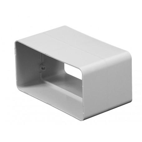 Łącznik kanału płaskiego 55x110 mm