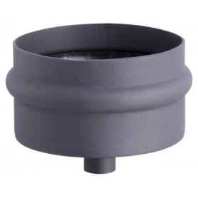 Miska z odpływem kondensatu czarna 80 pelet