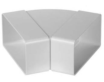 Kolano poziome płaskie 45 (55x110)