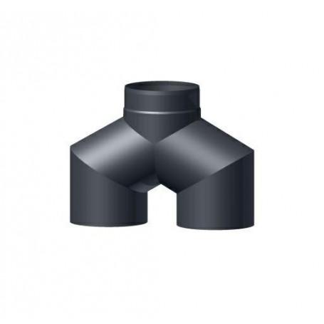 Trójnik czarny Y 150 górny