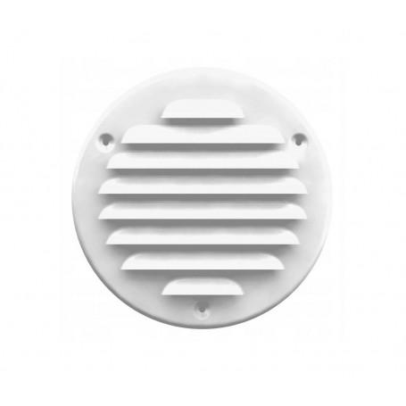 Kratka wentylacyjna metalowa 125 biała