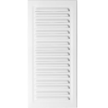 Kratka wentylacyjna metalowa MT7B 10x25 biała