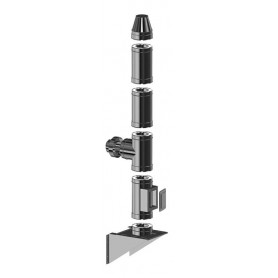 Komin dwuścienny żaroodporny 150/250 mm / 4,9 m gr. 0,8 mm