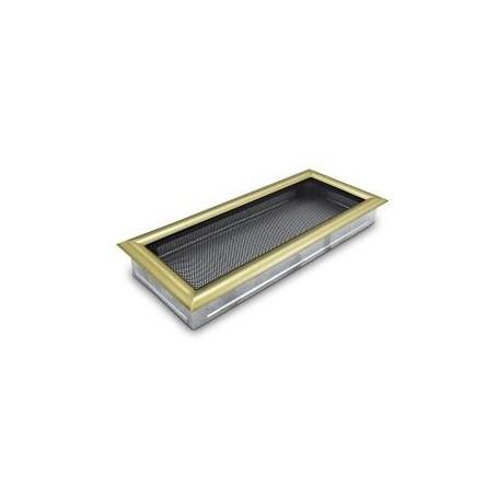 Kratka kominkowa 17x50 antyczne złoto