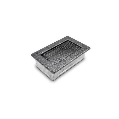 Kratka kominkowa 17x11 czarno srebrna