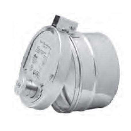 Regulator ciągu okrągly RCO 150-EX z systemem przeciwwybuchowym